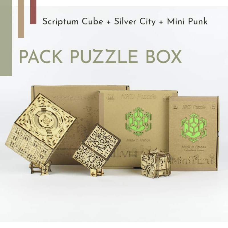 Puzzle box pack nkd puzzle - 1