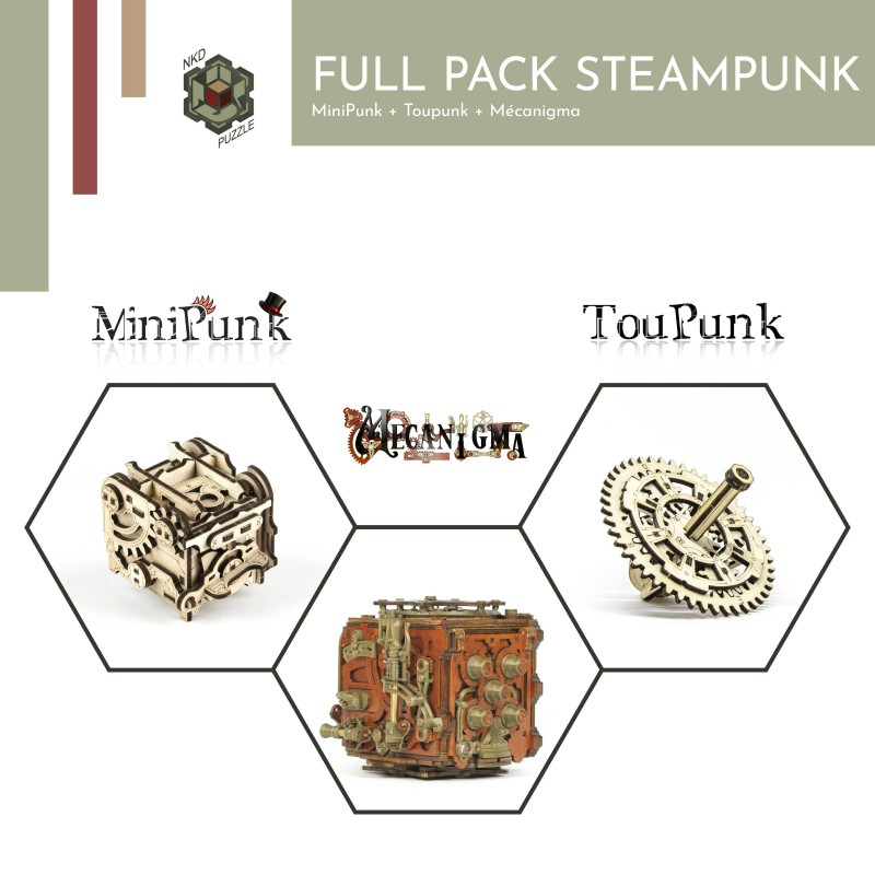 Full pack Steampunk nkd puzzle - 4