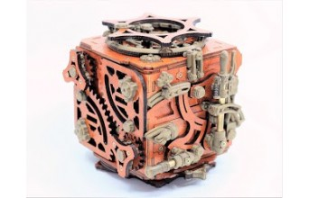 A wonderful testimony of our most complex creation so far: the mecanigma box